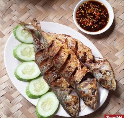 ikan kembung goreng bumbu garing