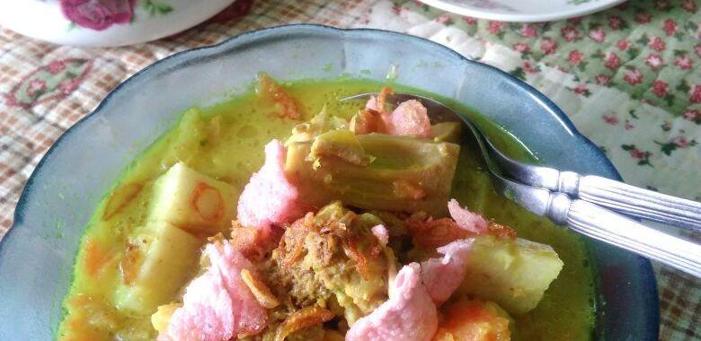 Resep Lontong Sayur Padang