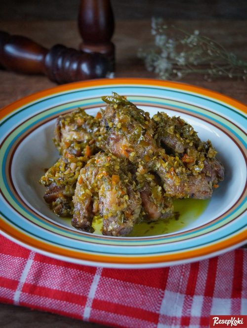 Gambar Hasil Membuat Resep Ayam Cabe Ijo