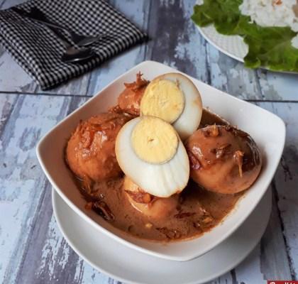 semur telur kental