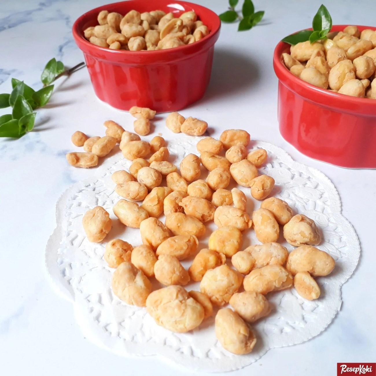 Kacang telur gurih