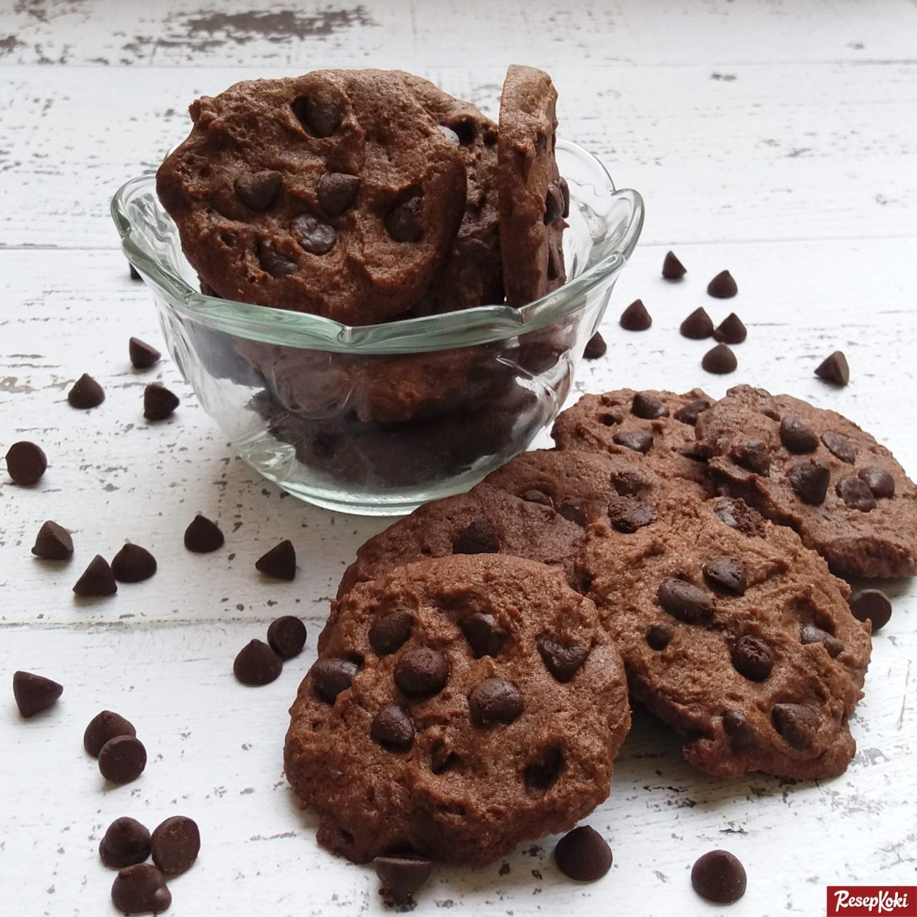 Resep Choco Chip Cookies (Kukis)