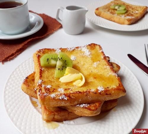 Gambar Hasil Membuat Resep French Toast