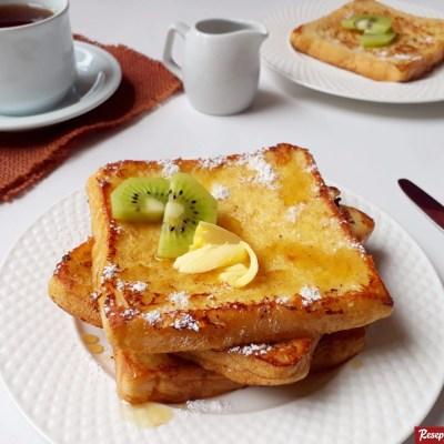 Roti French toast praktis