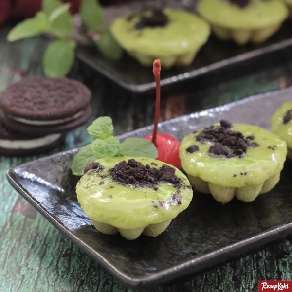 Gambar Hasil Membuat Resep Kue Cubit Green Tea