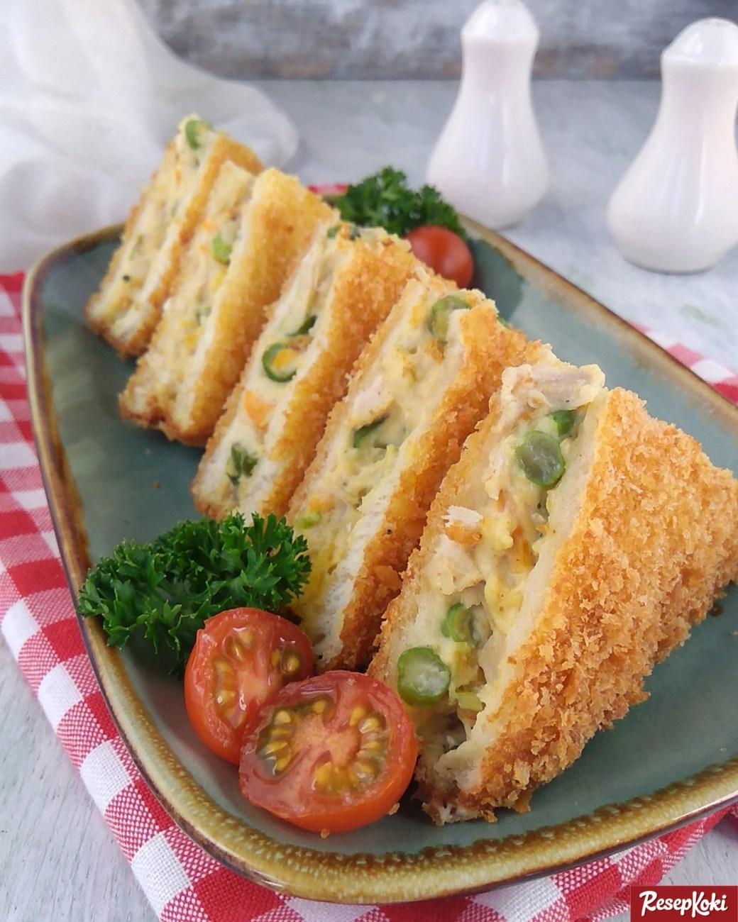Roti Tawar Isi : tawar, Tawar, Goreng, Ragout, Krispi, Mudah, Dibuat, Resep, ResepKoki