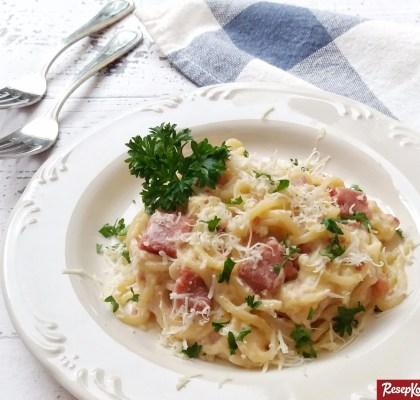 Spaghetti carbonara gurih