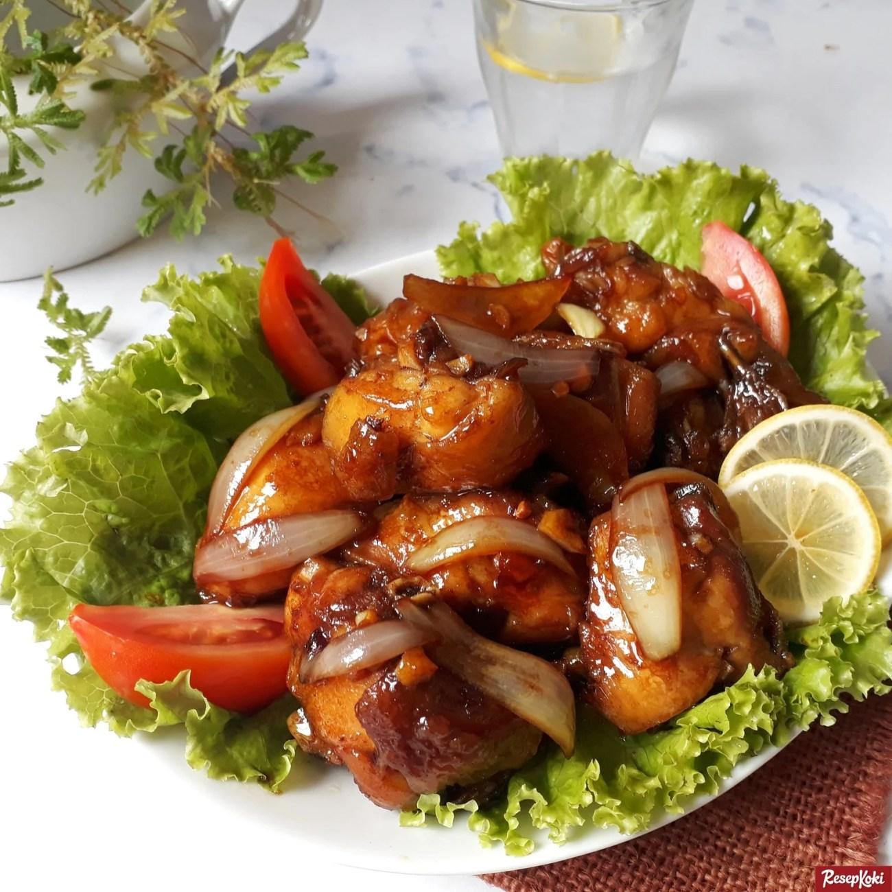 Resep Ayam Kecap Goreng Mentega