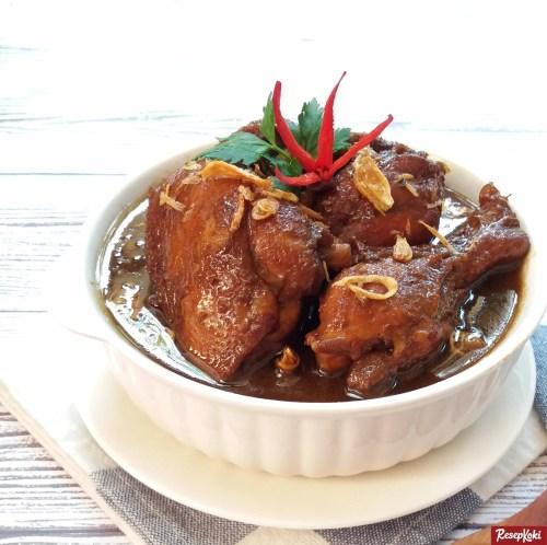 Gambar Hasil Membuat Resep Semur Ayam