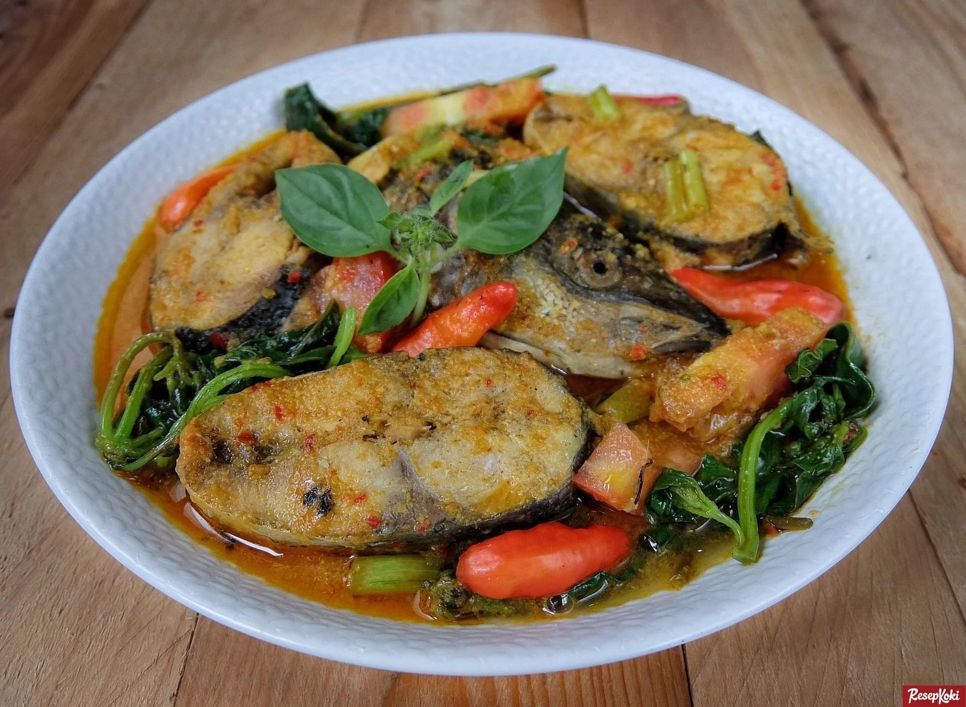 Ikan Woku Belanga Praktis Istimewa Khas Manado Resep Resepkoki