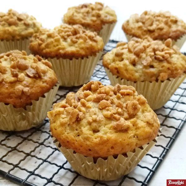 Gambar Hasil Membuat Resep Muffin Pisang