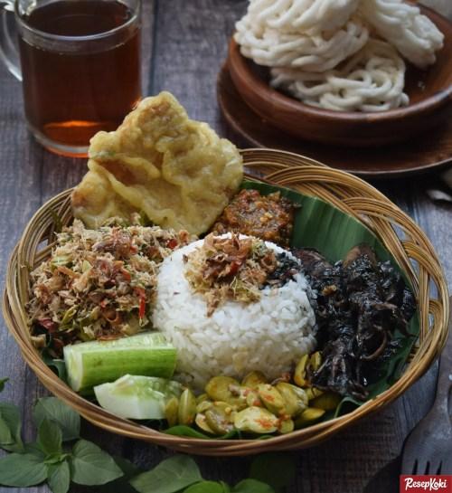 Gambar Hasil Membuat Resep Nasi Megono