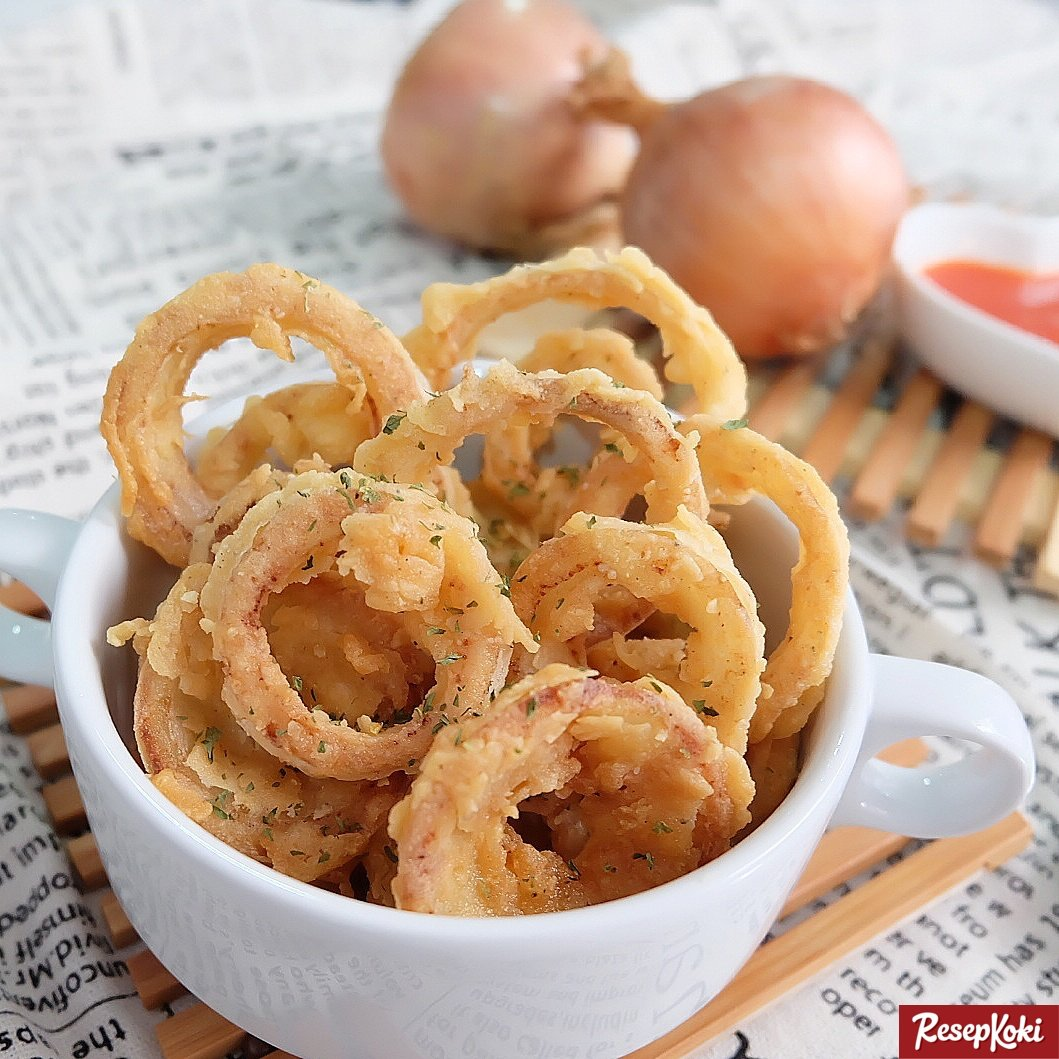 Resep Onion Rings