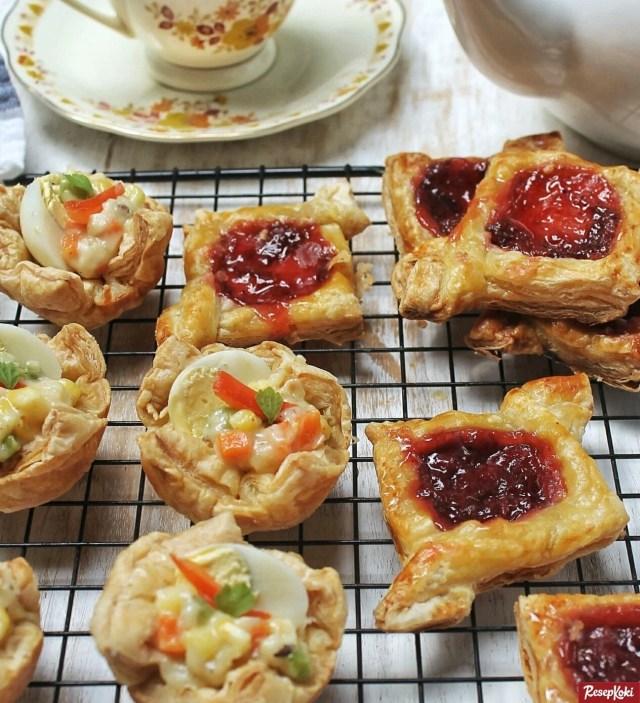 Gambar Hasil Membuat Resep Puff Pastry