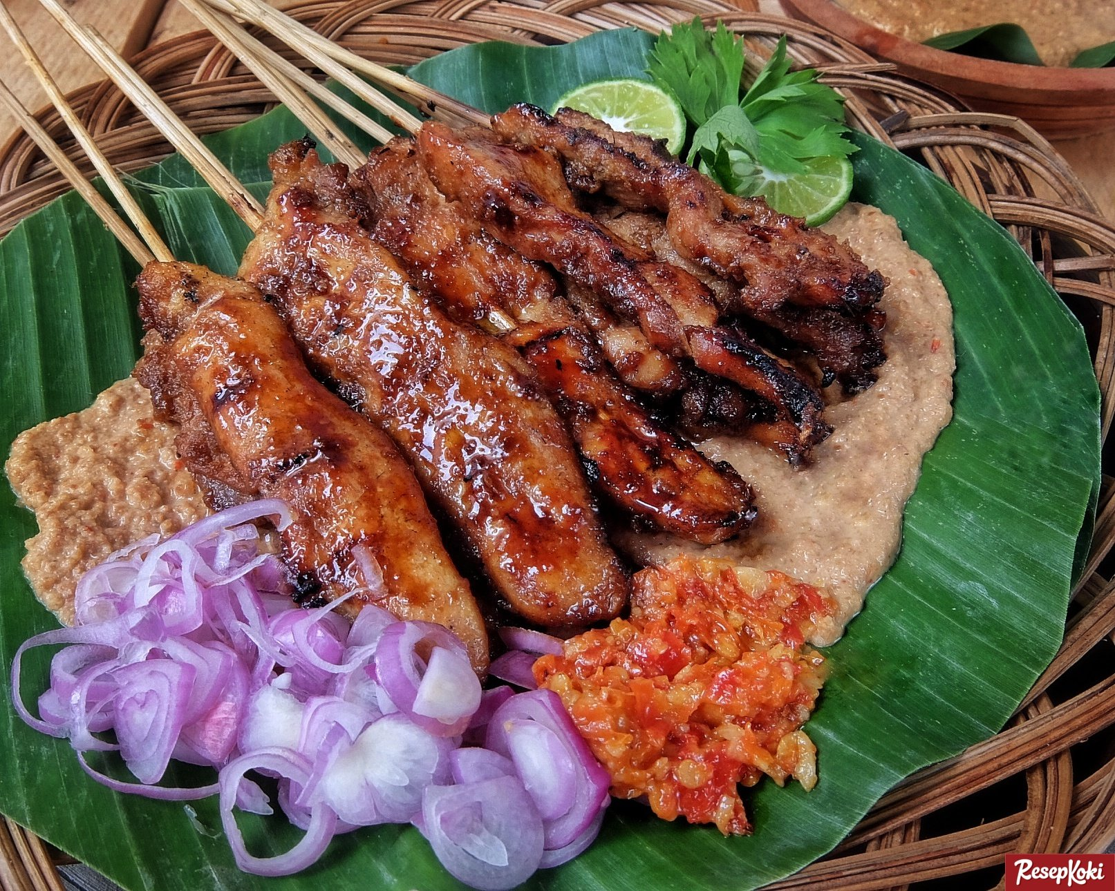 Sate khas Indonesia - sate ponorogo