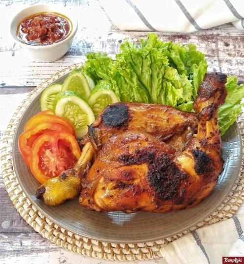 Gambar Hasil Membuat Resep Ayam Bakar Bumbu Bali