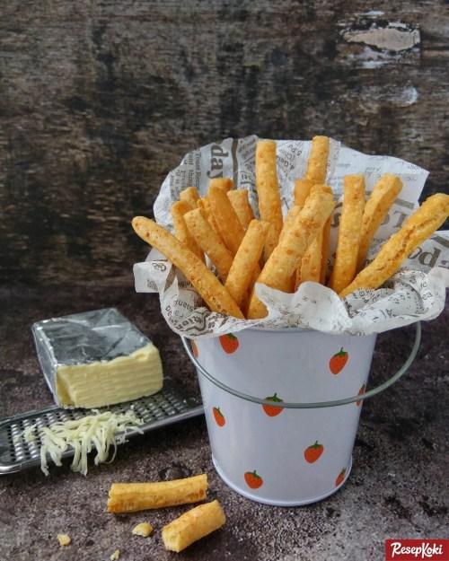 Gambar Hasil Membuat Resep Cheese Stick (Stik Keju)