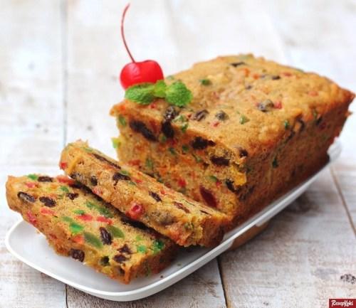Gambar Hasil Membuat Resep Fruit Cake