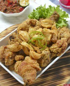 ayam goreng bawang krispi