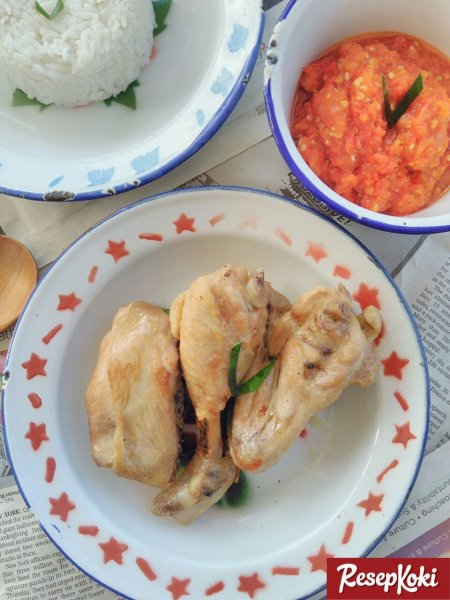 Gambar Hasil Membuat Resep Ayam Pop