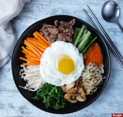 bibimbap korea sehat