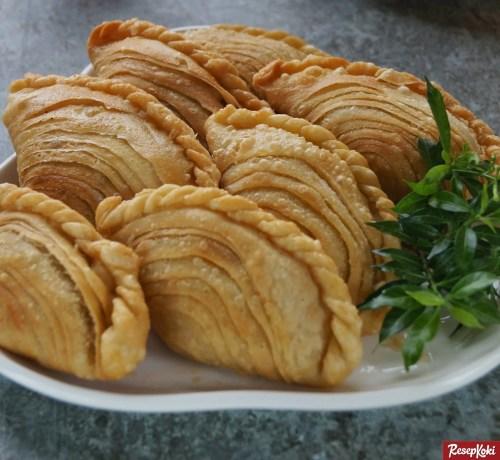 Gambar Hasil Membuat Resep Karipap (Curry Puff)