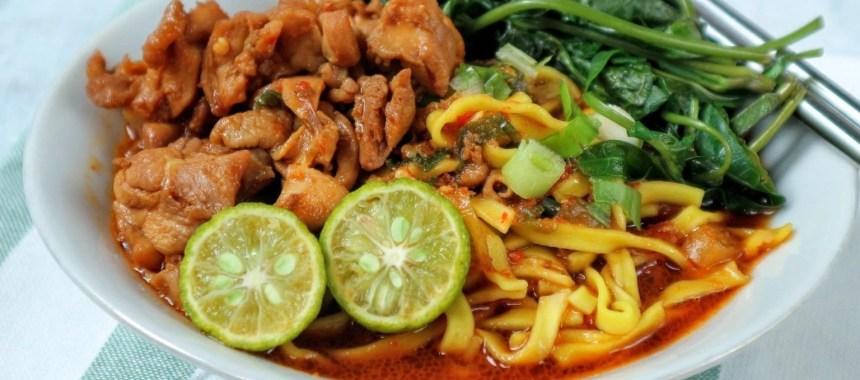 Resep Mie Kangkung Ayam