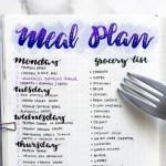 5 Cara Mudah Menyusun Menu Nikmat Untuk Seminggu