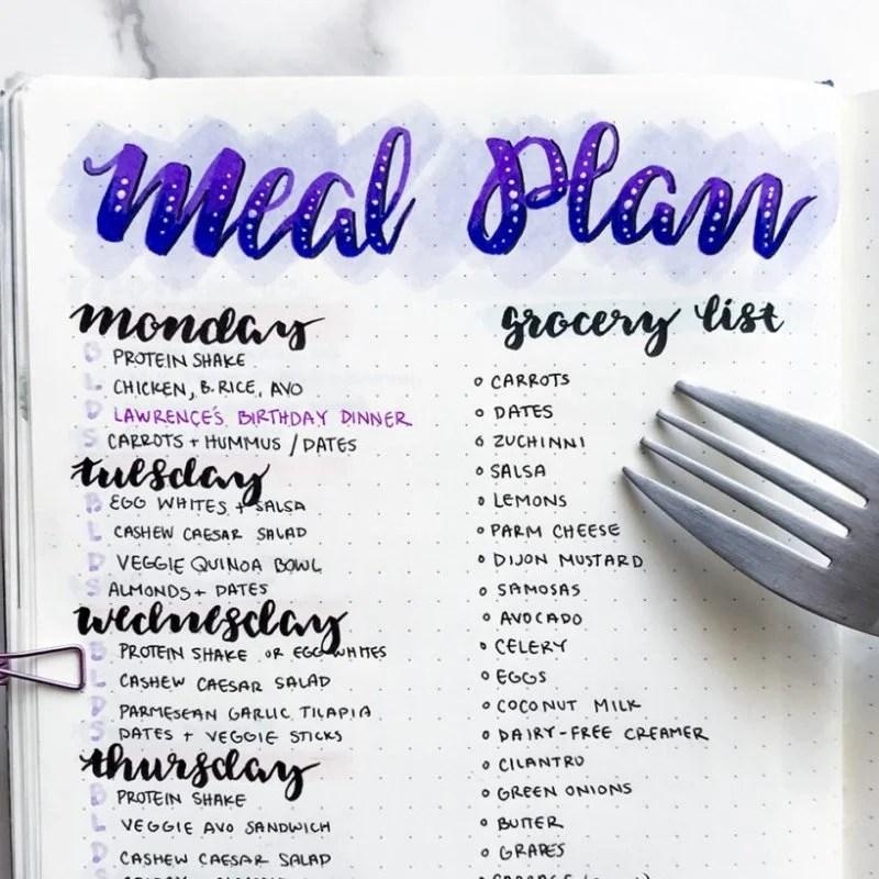 5 Cara Mudah Menyusun Menu Nikmat Untuk Seminggu Resepkoki