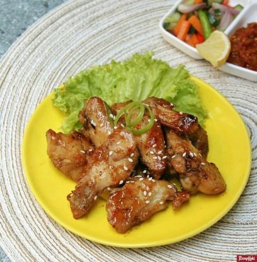 Gambar Hasil Membuat Resep Ayam Panggang Madu