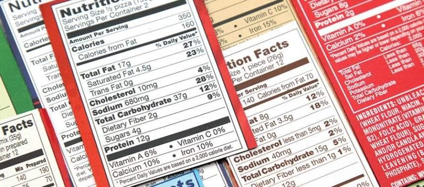 Membaca Label Kandungan Gizi pada Produk Kemasan dengan Akurat