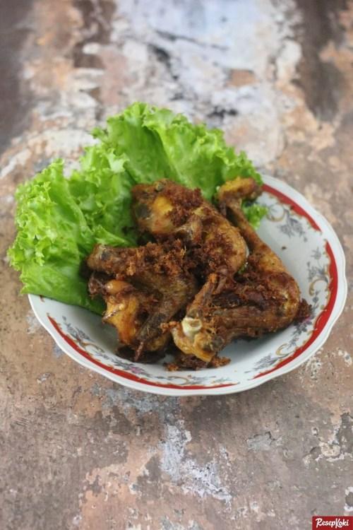 Gambar Hasil Membuat Resep Ayam Goreng Padang