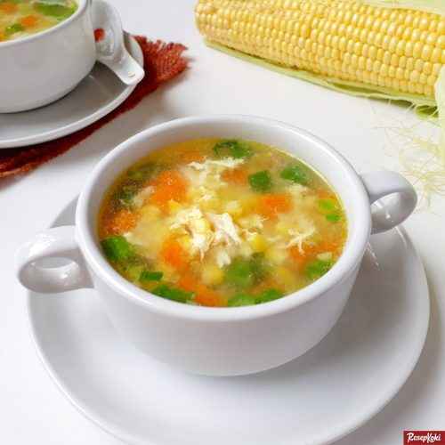 Gambar Hasil Membuat Resep Sup Jagung