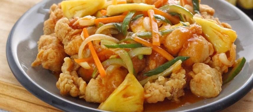 Resep Ayam Asam Manis