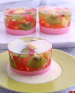 vla puding buah lezat