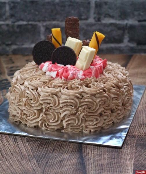 Gambar Hasil Membuat Resep Kue Tart Ulang Tahun