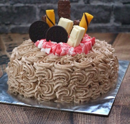 Kue ulang tahun tanpa oven