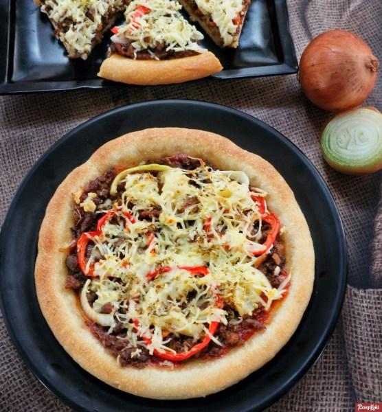 Gambar Hasil Membuat Resep Pizza Daging Sapi