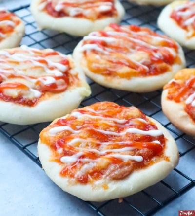 Gambar Hasil Membuat Resep Pizza Mini