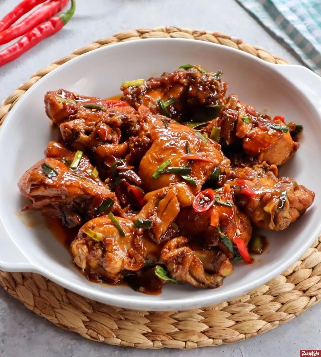 Resep Ayam Kecap Pedas