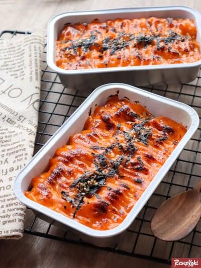 Gambar Hasil Membuat Resep Salmon Mentai