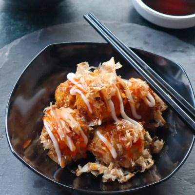 takoyaki cumi gurih