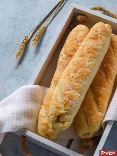 Gambar Hasil Membuat Resep Baguette