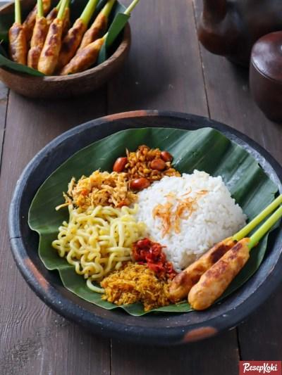 Gambar Hasil Membuat Resep Nasi Jinggo