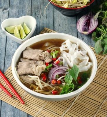 beef pho vietnam sederhana