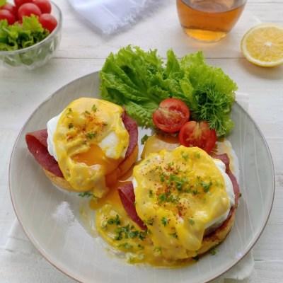 egg benedict special