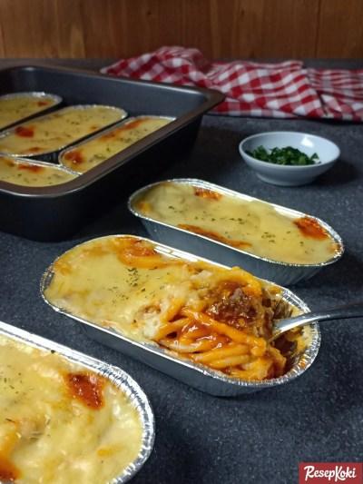 Gambar Hasil Membuat Resep Spaghetti Brulee
