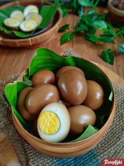 Gambar Hasil Membuat Resep Telur Bacem