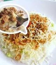 Bubur Daging Ayam Keju Parut yang Enak, Sehat, dan Bergizi