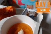 Menu Tunggal MPASI Puree Labu (Butternut Squash/Pumpkin) untuk Bayi umur 6 Bulan